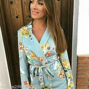Taille Floral S Avec Zara Jacket Ss17 Xs M L Ceinture Nouveau Blazer 7qqBS