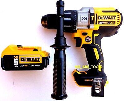 "DeWalt DCD996 20V MAX Li-Ion 1//2/"" Hammer Drill with DCB205 5.0Ah Battery"