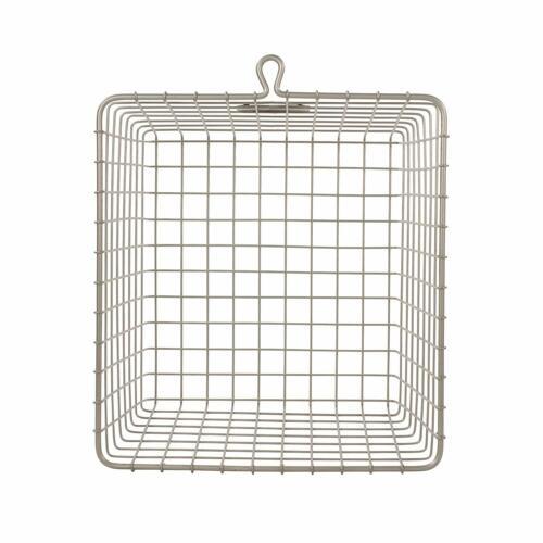 Satin Nickel Medium Spectrum Diversified Wire Storage Basket
