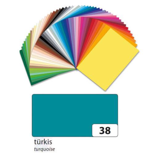 Türkis 50er NEU Fotokarton 300g//qm Din A4