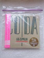 SEALED Led Zeppelin Coda Mini LP SHM CD JAPAN WPCR-13141 MINT NEW CONDITION