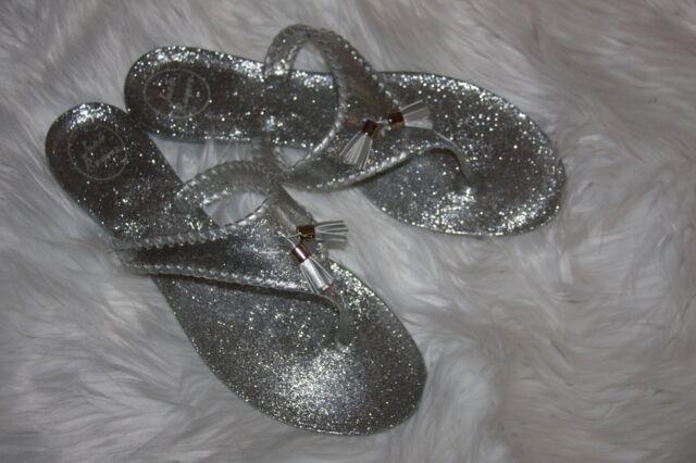 3896d25692ff Jack Rogers Sparkle Alana Jelly sandals women s size 11 m