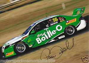 Paul-Dumbrell-Signed-6x4-or-8x12-Photo-PRINT-V8-Supercars-FORD-FPV-FPR-BOTTLE-O