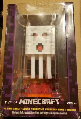 Brand New Mattel Minecraft RC Flying Ghast Quadcopter Drone