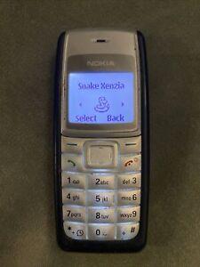 Nokia 1112-Dark Blu (Sbloccato) Cellulare con SNAKE xenzia