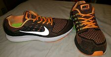MENS  NIKE ZOOM STRUCTURE 18 ROUND TOE RUNNING SIZE 12 NICE 683731-801