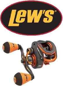 Lew/'s mach Crush Speed Spool SLP 7.5 1 Baitcast Reel Left Hand MC1SHL