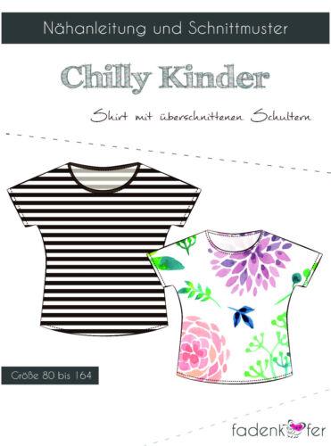 """Patrones de corte camisa Chilly de hilo escarabajo /""""niños/"""" talla 80-164 nº 15"""