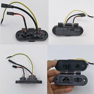 Ladeansch lussmontage Staub schraube für Ninebot MAX G30 Elektroroller Zubehör*