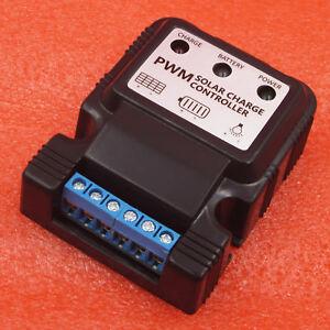 6 V 12 V 10 A auto Panneau Solaire Charge Contrôleur Chargeur De Batterie Régulateur PWM nouveau