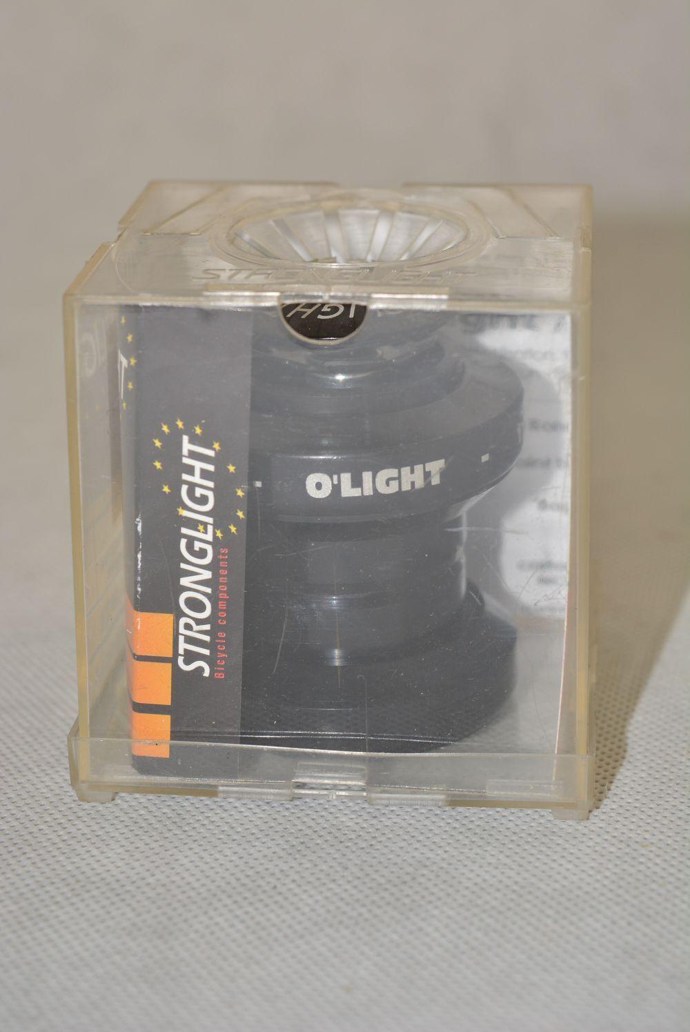 STRONGLIGHT S252216 JD ' OLIGHT NCS 1p1 8 black headset   new, nos, nib