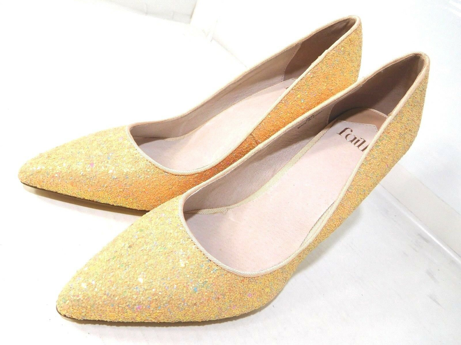 Faith Donna Fashion Shoes Pink 'Chloe Party' High Stiletto Heel Pointed Toe