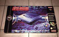 Super Nintendo SNES Spielekonsole OVP 1 Controller u. Super Mario Top Zustand