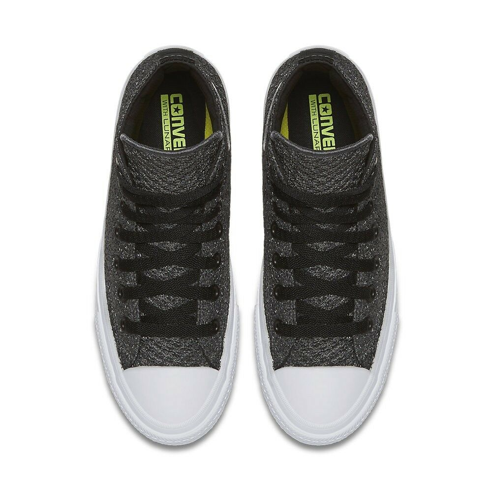 UNISEX CONVERSE CHUCK TAYLOR ALL STAR II HIGH SPACER MESH THUNDER 154020C SHOES