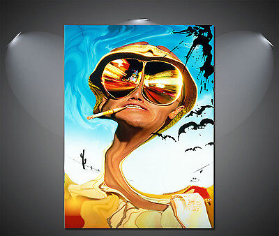 A0 A1 A2 A3 A4 Fear and Loathing in Las Vegas Vintage Movie Canvas Print