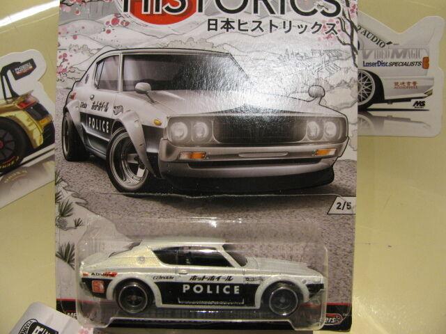Hay más marcas de productos de alta calidad. Hot Hot Hot Wheels Nissan Skyline 2000GT-R Japón HISTORICS Hotwheels  tienda en linea