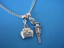 Nurse Necklace Graduation Gift for a Nurse Nursing Necklace Student Nurse Gift