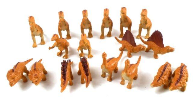 Checkersaurus Rex Replacement 18 piece Brown Dinosaur Figures Game Pieces