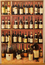 (PRL) 1988 CHAMPAGNE RED WINES BEAUJOLAIS CORDIER VINTAGE PRINT AFFICHE POSTER