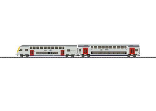Märklin 43573 Themen-Ergänzungspackung Doppelstockwagen SNCB passend zu 29474