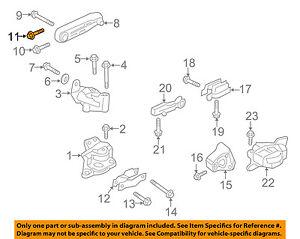 volvo oem 2016 xc90 engine motor transmission upper mount mount bolt rh ebay com