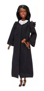 BARBIE-2019-CAREER-OF-THE-YEAR-JUDGE-AA-DOLL-BLACK-HAIR-FXP43-NEW-MINT