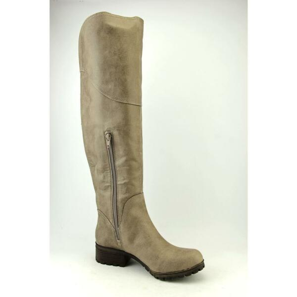990ee4d79936 Lucky BRAND Harleen Women US 7.5 Brown Over The Knee Boot Blemish 15733