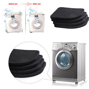 4 stk l rmschutz antivibration antiruscht d mpfmatte f r waschmaschine und m bel ebay. Black Bedroom Furniture Sets. Home Design Ideas