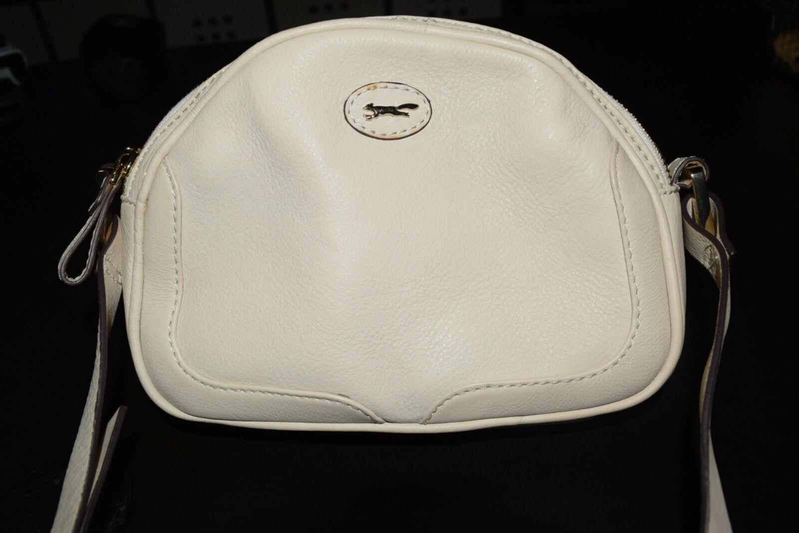 Authentic Paul Costelloe Handbag Purse Cream Brand New Ivory Cross Body Bag