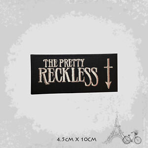 The Pretty Reckless Logo Patch Iron On Patch Sew On Embroidered Patch