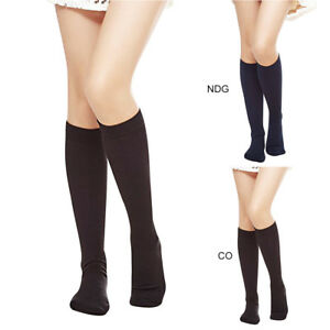 Women-Opaque-Plush-Fleece-Lined-Trouser-Socks-Knee-High-Stocking-Over-Knee-Sock