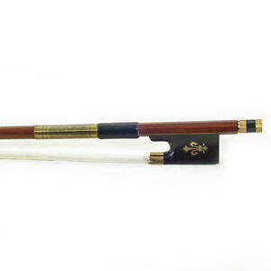 New-High-Quality-4-4-Size-Violin-Bow-Brazilwood-Fully-Line-Abalone-Gold-Wrap