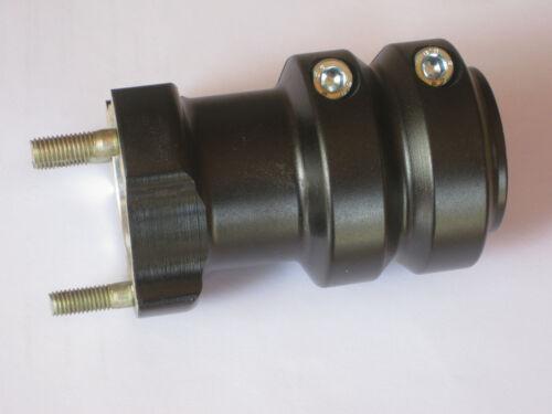 Radstern Schwarz 50 x 115 mm Kart NEU 2 Radsterne Rennkart