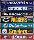 NFL Football Street Sign Ave 4