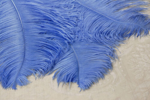 """2 TURQUOISE Ostrich FEATHERS 23-28/"""" Full Wing PLUMES Bridal//Wedding//Centerpiece"""
