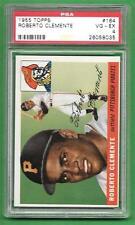 1955 Topps #164 Roberto Clemente ** ROOKIE ** STRONG PSA VG-EX 4 * baseball card