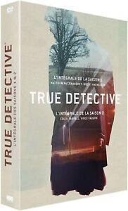 COFFRET DVD SERIE POLICIER : TRUE DETECTIVE SAISONS 1 ET 2 - COLIN FARRELL
