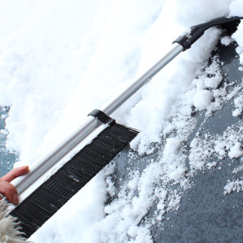 Ice Snow Scraper Auto Car Truck Window Retractable Shovel Removal Brush Squeegee
