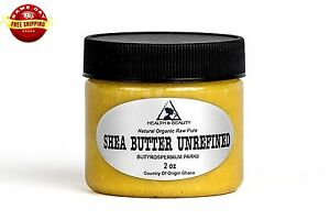 SHEA-BUTTER-UNREFINED-YELLOW-ORGANIC-RAW-COLD-PRESSED-GRADE-A-GHANA-PURE-2-OZ