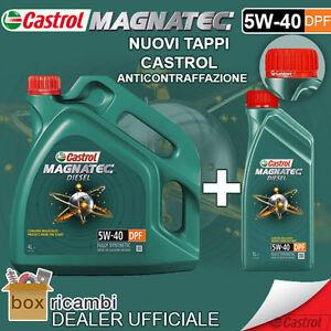 Olio-CASTROL-MAGNATEC-DIESEL-5W40-DPF-Motore-5-LT-Litri-UFFICIALE-CASTROL