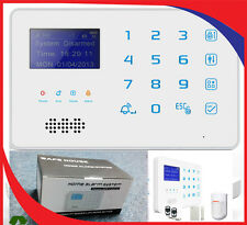 Security Wireless GSM Home, Office Burglar Intruder Alarm, New Model, With APP