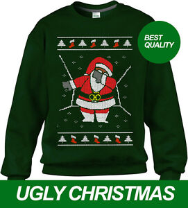 image is loading dabbing santa ugly christmas sweater dab santa