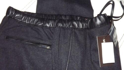 Coll M Kors Nuova Pantalone 88 Grigio Tg Flanella 38 Girovita Cm Pelle 48 CHCtqnrwO