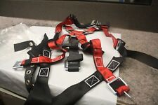 Guardian Fall Protection Harness With Msa Self Retracting Lifelines10153585 New