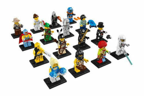 Lego Minifigures Series 1 (8683) Complete Set Set Set Of 16 New Factory Sealed 7dbea5