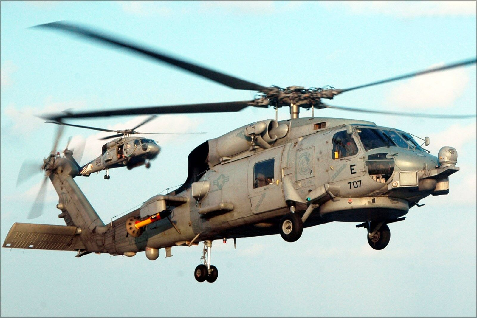 Poster, Molte Misure; Sh-60b Seahawk Helicopter e Sh-60f Seahawk