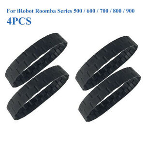 2//4pcs Replacement Tire Skin FOR Roomba-IRobot 500 600 700 800 900 Series Parts