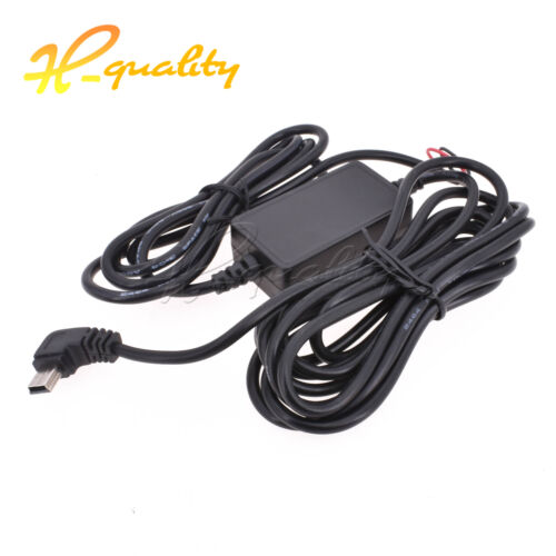 12V to 5V Mini USB Wire Car Charger FOR DVR Power Box Camera Recorder R