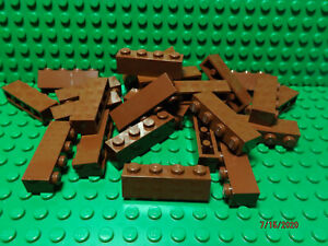 ** 25 CT LOT **  Lego NEW reddish brown 1 x 1 round brick pieces   Lot of 25