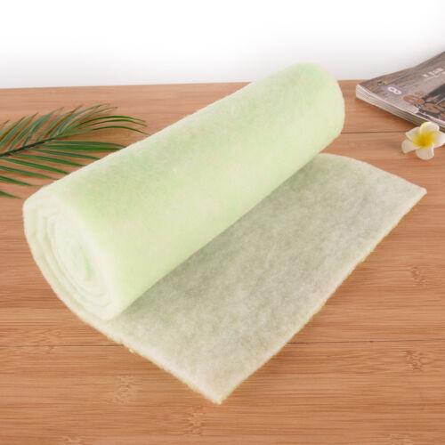 Aquarium Fish Tank Double Layer Filter Foam Sponge Cotton Pad Mat Media Green HS